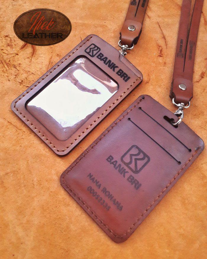 Gantungan ID Card Kulit 012